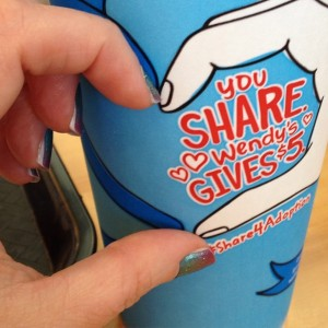 #Share4Adoption, Wendy's, Wendys, Dave Thomas, Adoption, Dave Thomas Foundation for Adoption, #Carnivaljn, Carnival, $5, #Donation, #charity, #nonprofit, #help, #Support, #feelgood, #Socialcause, #Socialgiving, #causemarketing, #jamicure, #nailwrap, #nailwraps, #manicure, #hand, #nailpolish alternative, manicure, #nails,