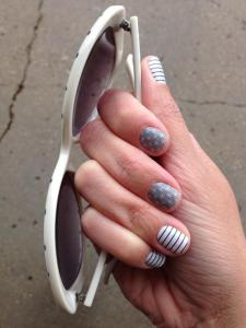 Gray Matters, Grey Matters, #graymattersjn, #greymattersjn, Country Club, #countryclubjn, nail wrap, nail wraps, manicure, jamicure, nail polish alternative, e3, electronics conference, video game, gamer