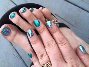 #MermaidTales, #Jaded, #nailwrap, nailwrap, #nailwraps, nailwraps, manicure, #manicure, jamicure #jamicure, pedicure, #pedicure, nail polish alternative