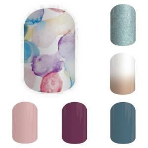 #SweetSplashJN, NinjaofNails.com, #BarelyBlueJN, #BlueJeansJN, #BoysenberryJN, #DaydreamJN, #SSE, #SistersStyleExclusive, Sisters' Style Exclusive, SSE, nail art, #nailart, nails, #nails, diy, #nodrytime, #new, #July2015, nail polish alternative, mani, manicure, #mani, #manicure