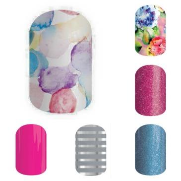 #SweetSplashJN, NinjaofNails.com #FadedBouquetJN, #FierceFuschiaJN, #FountainofYouthJN, #Gray&SilverStripeJN, #HautePinkJN, #nails, #mani, #manicure, mani, manicure, nail wraps, nail polish alternative, diy, #nodryingtime, #nodrytime, SSE, #SSE, Sisters' Style Exclusive