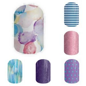 #SweetSplashJN, NinjaofNails.com #NavySkinnyJN, #PixieJN, #PurpleMiniPolkaJN, #StargazingJN, #SeascapeJN, #SSE, #SistersStyleExclusive, Sisters' Style Exclusive, SSE, nail art, #nailart, nails, #nails, diy, #nodrytime, #new, #July2015, nail polish alternative, mani, manicure, #mani, #manicure